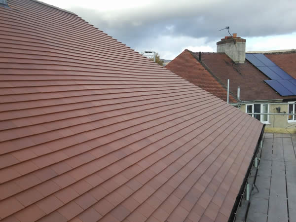New roofing installed in Ruthin