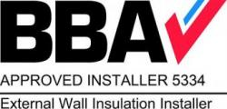 BBA Accredited external wall insultation installer badge